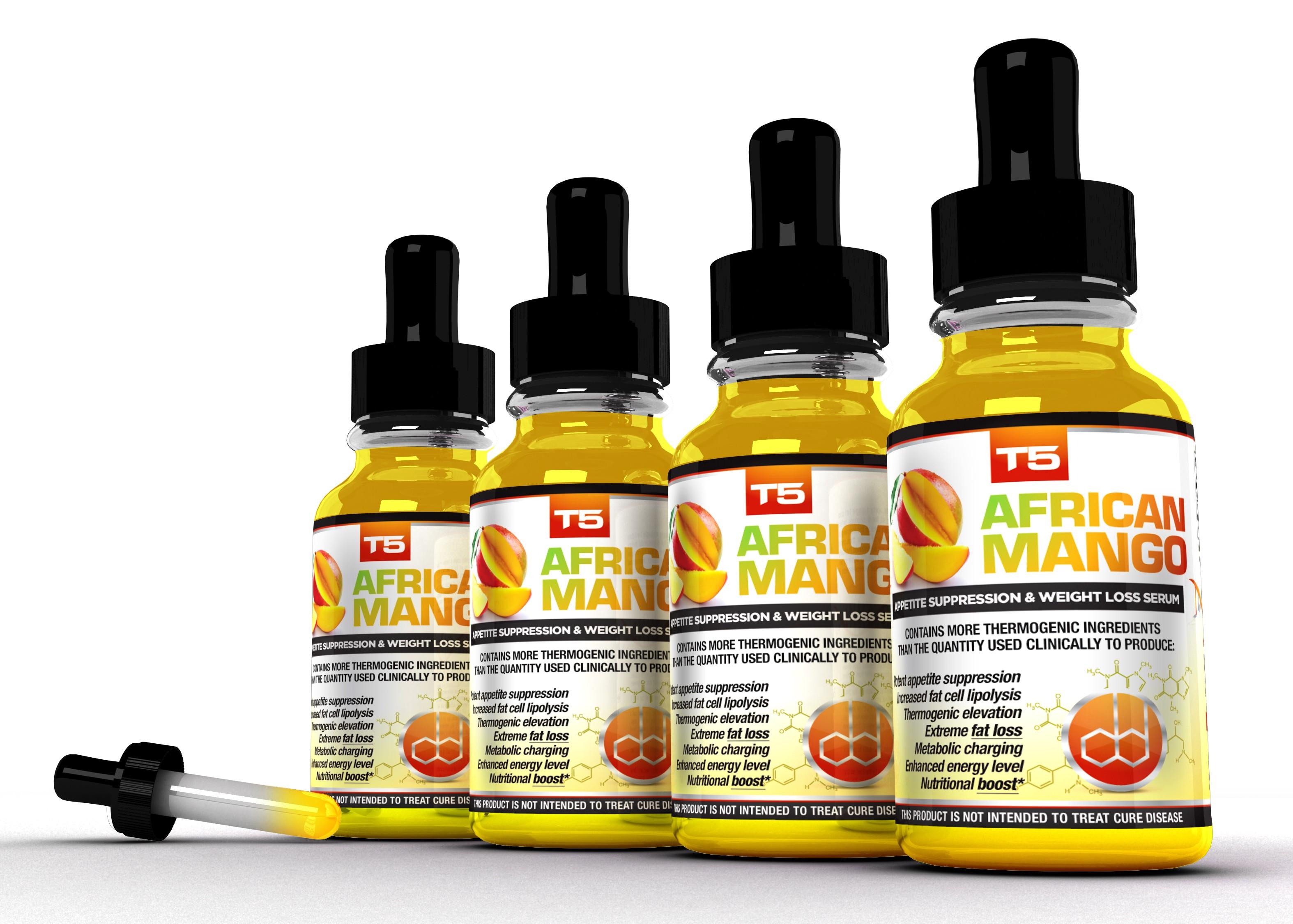 T5 African Mango 4 Bottle Bundle