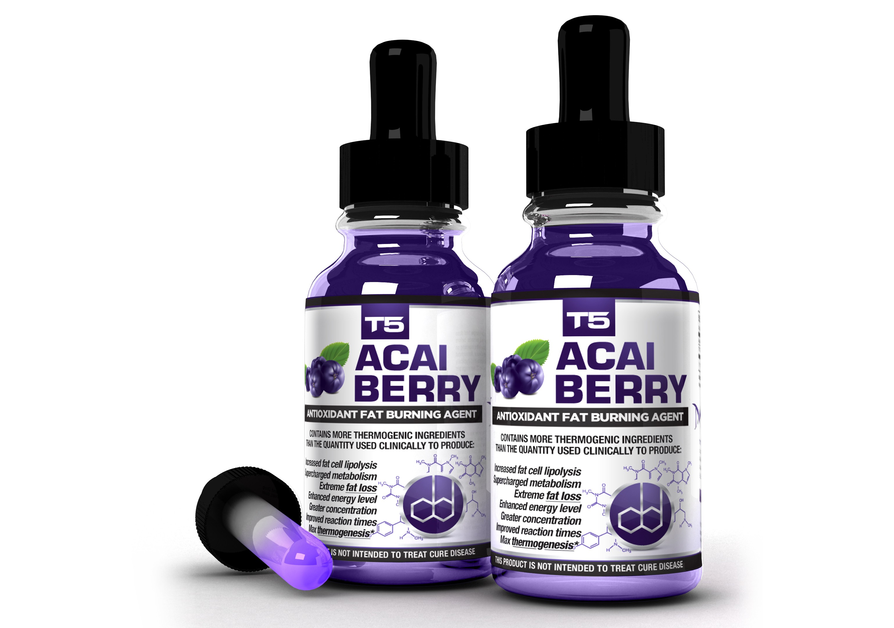 T5 Acai Berry 2 Bottle Bundle