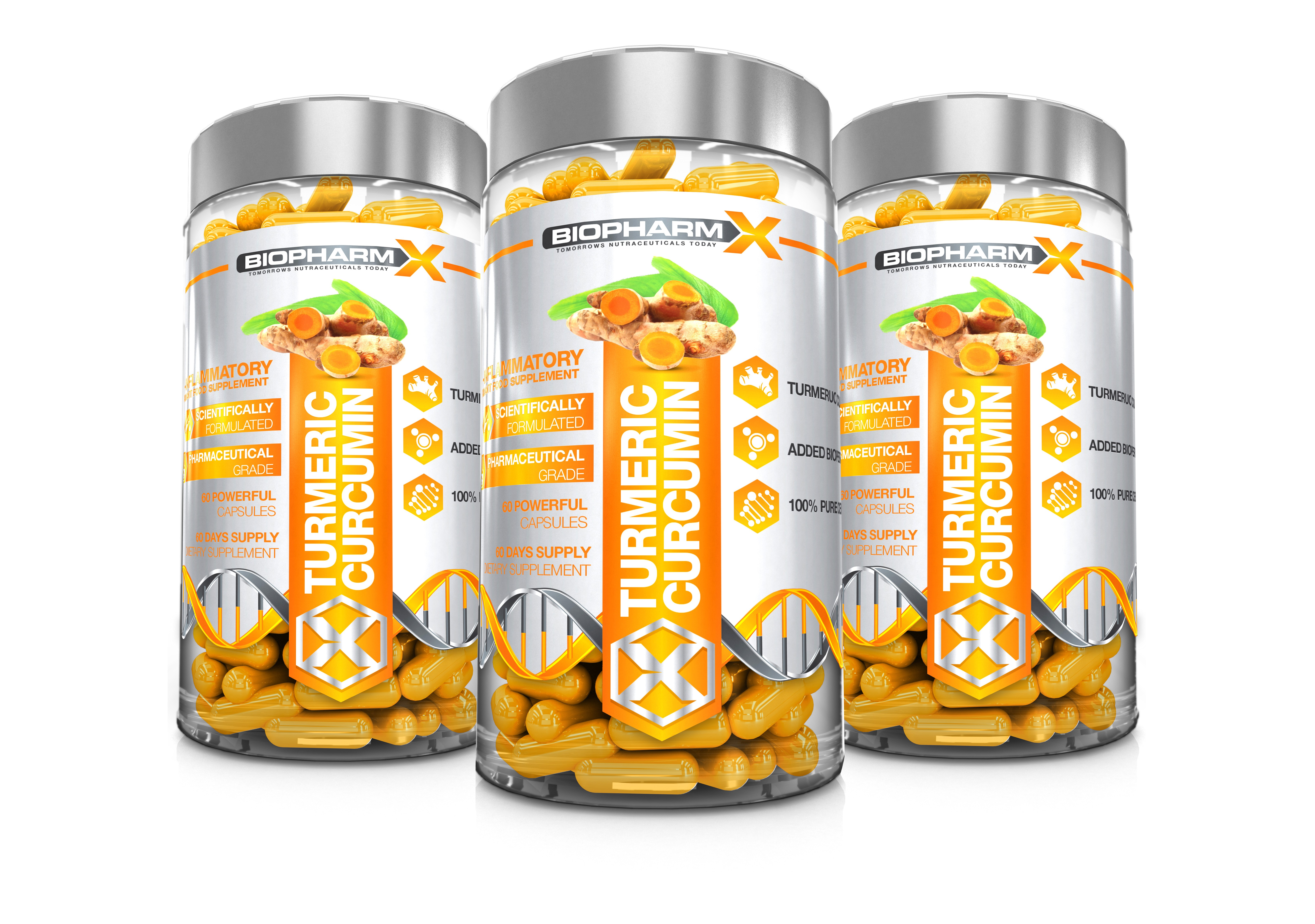 Turmeric Curcumin 3 Bottle Bundle