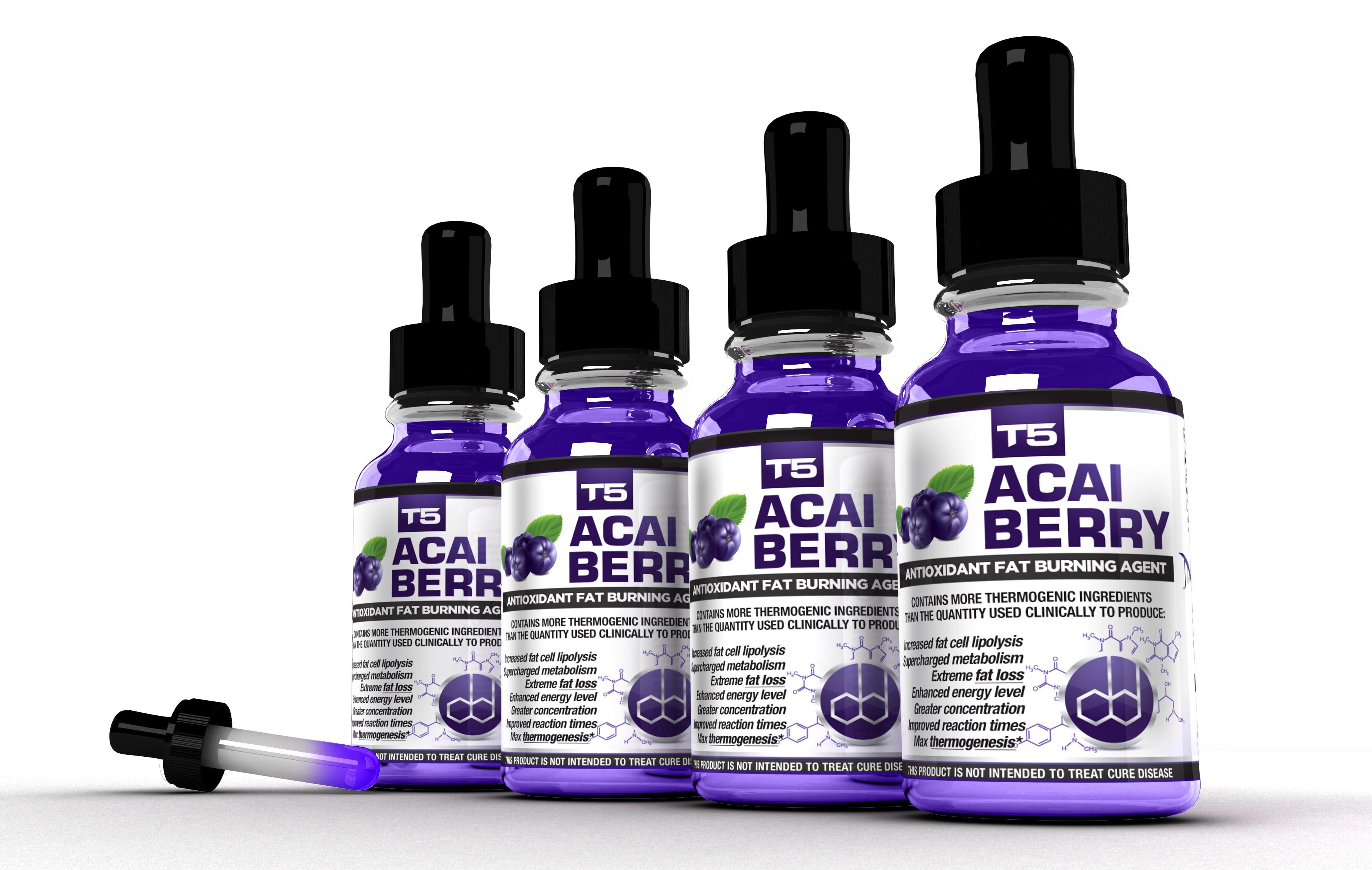 T5 Acai Berry 4 Bottle Bundle