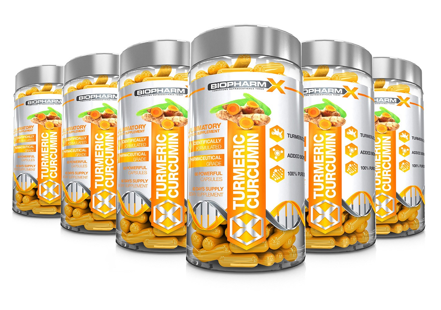 Turmeric Curcumin 6 Bottle Bundle